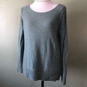 Gap sage green sweater medium EUC